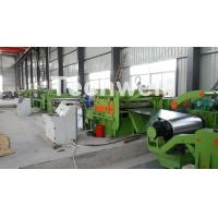 Steel Metal Cut To Length Line High Precision For Cutting Coil Into Required Length Manufactures