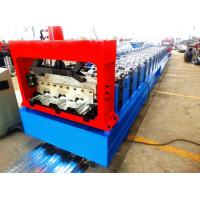 Motorized 0.8MM - 1.2MM Roll Forming Machine Professional With 28 Stations Manufactures