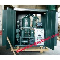 High vacuum used insulation oil purifier,ZYD Double-Stage vacuum transformer oil filter Manufactures