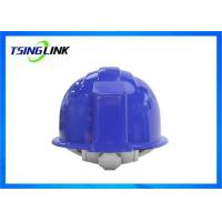 4G Intelligent Construction Worker Helmet With Wireless Camera Three Proof Design Manufactures