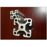 Buy cheap 20mm x 20mm Anodized Industrial Structural Aluminum Profiles For Assembly Line from wholesalers
