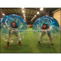 Large Human Sized Inflatable Bubble Ball Sports , Bubble Soccer Football Manufactures