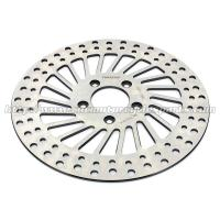 292mm Harley Davidson Parts Front Brake Rotors Discs With Heat Treatment Process Manufactures