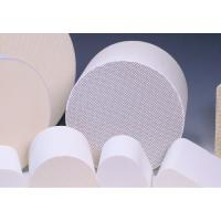 Cylindrical Honeycomb Ceramic Support Customize For Catalytic Converters Manufactures