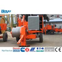 China Power Line Stringing Equipment TY180 4-bundle Conductor Hydraulic Puller Cummins Engine on sale