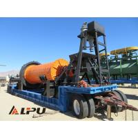 Large Capacity Portable Ore Mineral Grinding Mining Ball Mill Φ1500×3000 Manufactures