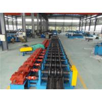 China Three Waves Guardrail Roll Forming Machine with Conveyor Table Hydraulic Decoiler on sale