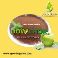 DOWCROP HOT SALE HIGH QUALITY FULVIC ACID POWER BROWN POWDER 100% COMPLETELY WATER SOLUBLE FERTILIZER ORGANIC FERTILIZER Manufactures