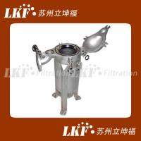 China Topin Single Bag Filter Housing & Filter Vessel on sale