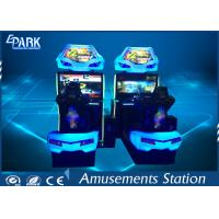 Attract Game Center Equipment Racing Simulator Machine for 2 Players Manufactures