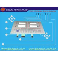 EL / PVC Backlit Push Button Membrane Switch With 3m Adhesive For Decoration Manufactures