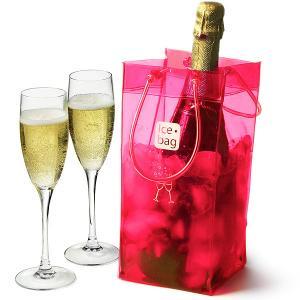 Large Storage Reusable PVC Gel Wine Cooler Bag For Wine Beer Bottle Manufactures
