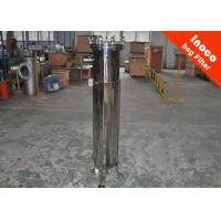 Quality Low Pressure Pocket Single Bag Filter Carbon Steel Housing Dust Collector for sale