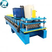 Buy cheap Commecial Use Trapezoidal Roof AG Panel Roll Forming Machine With Manual Pre-cutting Device from wholesalers