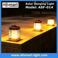75LED Solar Lights Outdoor LED Flickering Flame Torch Light Solar Powered Lantern Hanging Decorative Pathway Garden Lamp Manufactures