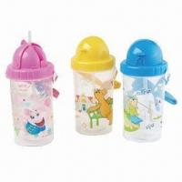 Plastic Straw Cups, Made of Plastic, Suitable for Promotional and Gift Purposes, BPA-free Manufactures