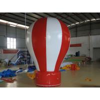 Red / White Inflatable Advertising Balloons 3M High Decorative Inflatable Balloon Manufactures