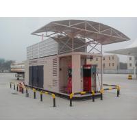 full - Integrated 2 Stage Natural Gas Compressor CNG Fuel Stations 350V / 50Hz Manufactures
