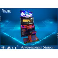 Crazy Snow Moto Coin-Operated Racing Game Machine With LED flash lighting Manufactures