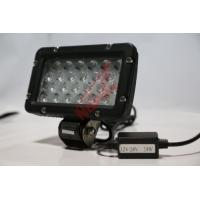 High Lumen 8 Inch 24W LED Work Lighting for bulldozer , IP68 Heavy Duty Work Lights Manufactures