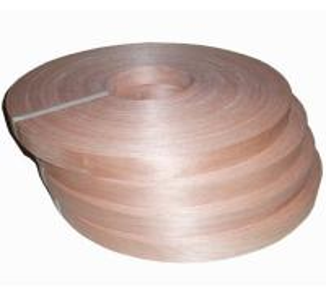 China Natural Chinese Cherry Wood Veneer Edge Banding Tape/Rolls on sale