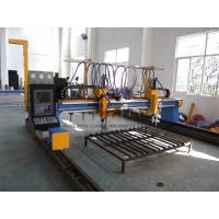 Automated Industrial Plasma CNC Cutter Machine With Hypertherm Power / Servo Motor Manufactures