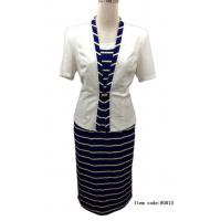 Factory fashion woman suit,high quality lady suit dress Manufactures