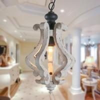 Buy cheap Small wood chandelier Pendant Lighting lamp Fixtures (WH-CI-57) from wholesalers