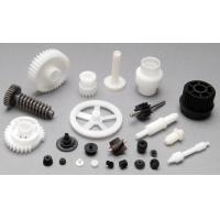Buy cheap Plastic Moulding Mechanical Gear Parts In White Or Black Customized Size from wholesalers