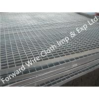 China Hot Dipped Galvanized Bar Grating Carbon Steel / Stainless Steel 1000 * 2000 mm on sale