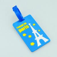 2014 promotional gift custom 3d pvc luggage tag Manufactures