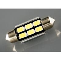 China 3W Car Led Lights Festoon Light Bulbs With Canbus Error Free 36mm 5630 X 6LEDs on sale