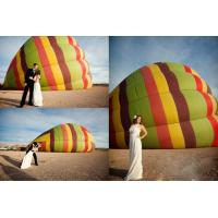 Tarpaulin Inflatable Sports Games Sightseeing Manned Hot Air Balloon For 2 Manufactures