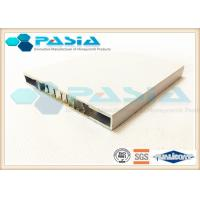 Architectural Honeycomb Ceiling Panels Rectangular Hollow Section Edge Sealed Manufactures