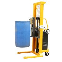1.6m Lifting Height Electric Drum Stacker for Loading Steel , Plastic Drums Manufactures
