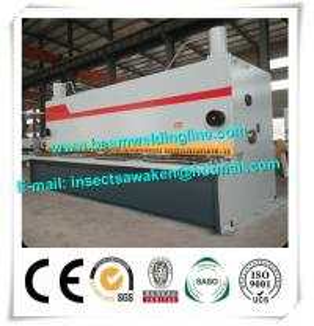 Quality Steel Plate E21S NC Hydraulic Swing Beam Shear Hydraulic Guillotine Shearing Machine for sale