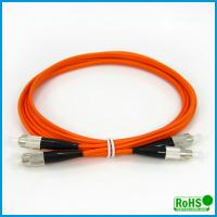 Multimode Duplex Fiber Optic Patch Cables For High Bit Rate Data Transmission Manufactures
