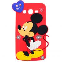 mickey rubber silicon Case For iPhone 4 5s 6s plus SAMSUNG galaxy s5 s4 S6 S7 NOTE 3 5 Manufactures