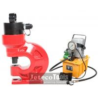 China Jeteco Tools electric motor hydraulic pump operated CH-60 hydraulic hole punch machine on sale