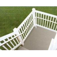 Alloy 6063 - T5 aluminum hand railings for stairs , aluminum porch railing Manufactures
