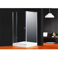 Bathroom Designs Glass Shower Enclosures Chrome Frame Hinged Door 6796E-1 Manufactures