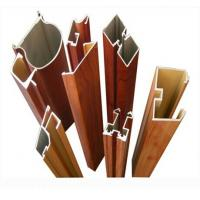 6063 - T5 Aluminum Door Extrusions For Sliding Doors GB / 75237 - 2004 Manufactures