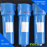 BOCIN OEM Flange Fuel Gas Filters Separator , 0.003 Microns Particle Filtration Manufactures