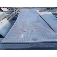 Custom cut 914 - 1500mm GB, Q235, Q345, DIN1623 Hot Rolled Checkered Steel Plate / Sheets Manufactures