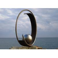 Modern Stainless Steel Outdoor Metal Public Art Sculpture with Sphere Manufactures