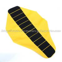 Mx Dirt Bike Parts PVC Ribbed Motorcycle Seat Cover For Suzuki Rm 125 250 Manufactures