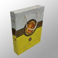 Recyclable Custom Paper Bag Printing For Moon Cake / Electronic Digital Products Manufactures