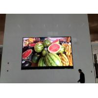 China IP43 HD SMD Indoor Led Display Screen For Advertising / Industrial / Commercial on sale
