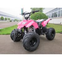 Red 50cc Electric Quad ATV 4 Wheeler Automatic Engine For Children / Kids Manufactures