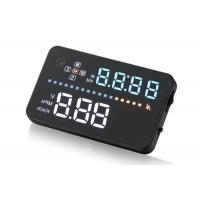 DC8 - 18V Gps Hud Speedometer , Car And Trucks A3 Compass Gps Led Head Up Display Manufactures